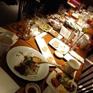 宴のあと、京都で忘年会、 飲みました~\(^^)/