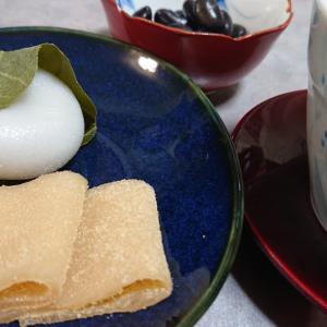 和菓子とお茶で、おうちカフェ