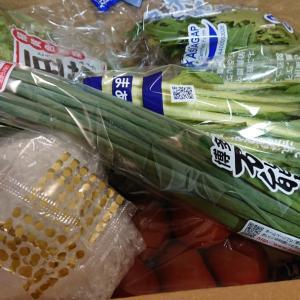 宅配で、お野菜が届きました    免疫力アップのお話