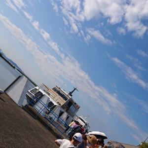 数年ぶりに、竹生島にいきました