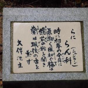 令和石碑の除幕式