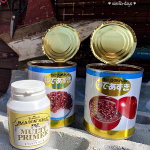 ザラザラリメ缶作り&多肉と猫の日向ぼっこ |ωФ≡)ωФ≡)♬