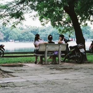 【ベトナム観光】ホアンキエム湖(Ho Hoan Kiem)