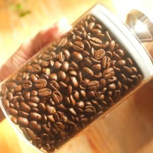 【コーヒー保存】密閉 ガラス キャニスター保存容器エア・リデューサー スリム