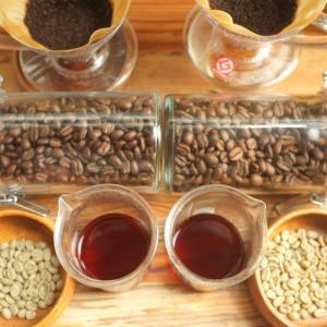 コーヒー精製プロセスとは?ウォッシュドとナチュラルの違いを飲み比べ