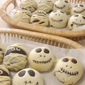 ハロウィンロール&かぼちゃパン&芋ようかん 1回目