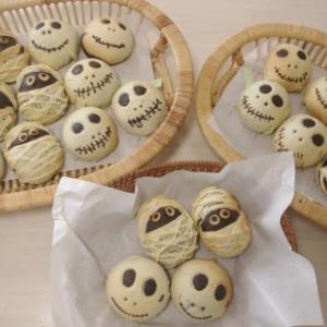 ハロウィンロール&かぼちゃパン&芋ようかん 3回目