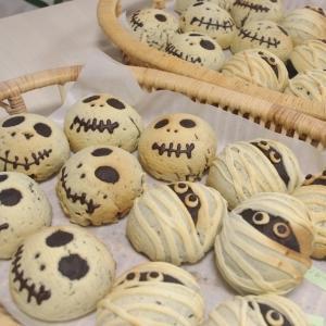 ハロウィンロール&かぼちゃパン&芋ようかん 4回目