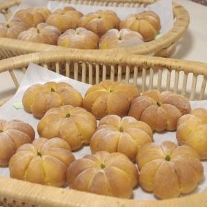 ハロウィンロール&かぼちゃパン&芋ようかん 5回目
