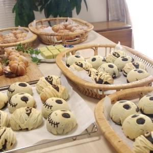 ハロウィンロール&かぼちゃパン&芋ようかん 最終日