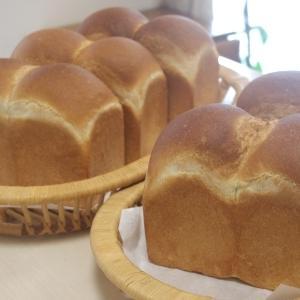 山型食パン&カレーベーコンロール&わらび餅