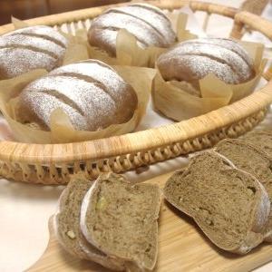 栗とほうじ茶のパン&パンオショコラ&チョコナッツケーキ 3回目