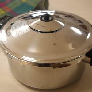 ピッカピカの鍋と里芋