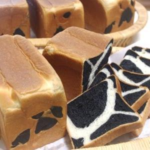 牛柄ミルクブレッド&よもぎキューブ&アメリカンショートケーキ