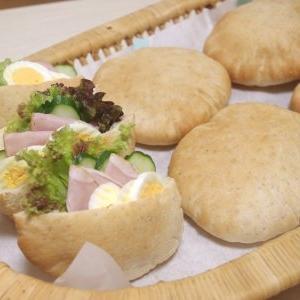 ピタ&レーズンツイスト&わらび餅