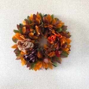 Fall Foliage Mini Wreath