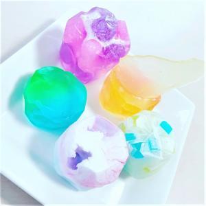 キラキラ宝石石鹸 Harbarium momo 3/29minahan inカインズ新座出店者