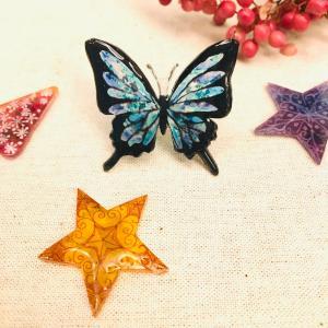 蝶のプラバンブローチワークショップ♪11/29minahan大宮北ハウジングステージ