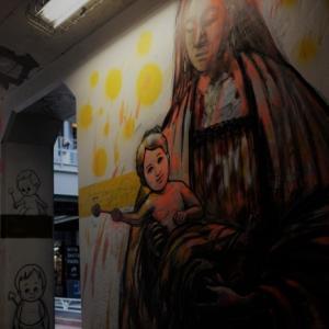 トンネルの聖母子