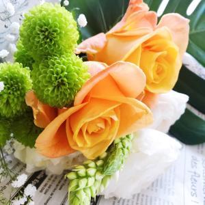 自粛の中 お花に癒やされる
