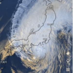 台風、どうなる・・・