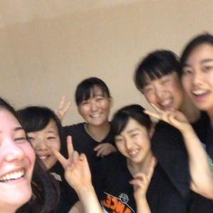高校のダンスチームの練習に参加した