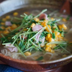 塩ラーメン ~手作りスープに挑戦~