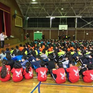 成田市小学生綱引きのNT地区大会へ