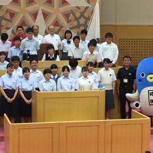 成田市「中学生議会」2019
