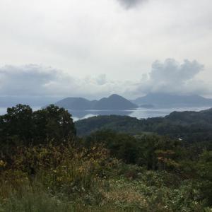 北海道・洞爺湖カヌー&中島での神社参拝