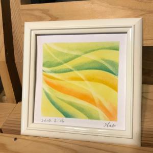 奈緒子さんの最終日!『花瓶の花』や感情アート♪