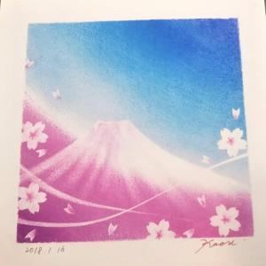 【4月21日と24日】八ヶ岳、長野県原村で、パステル和アートレッスン♪