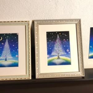 パステルで、素敵でかわいい『Shiny Tree』ができあがりました!
