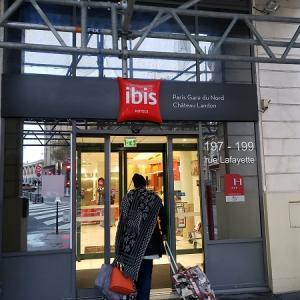 【パリ】パリ北駅10区 ibis Gare du Nord Chateau Landon