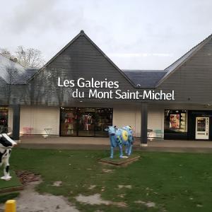 【モンサンミッシェル】Les Galeries Du Mont-Saint Michel