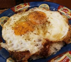 白楽天 愛媛今治 焼豚卵飯とセンザンギ