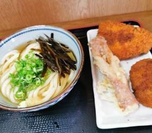 うどん屋 たぬき 東古松店