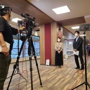 松江センターアゼリアのTV取材を受けました(^▽^)/