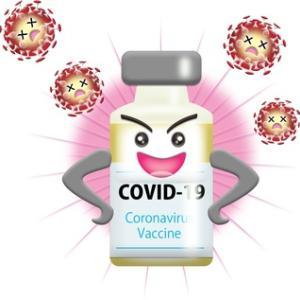 「新型コロナウィルスワクチン」接種終了