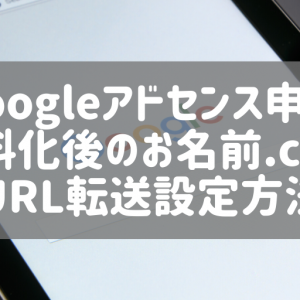 【googleアドセンス申請】はてなブログpro切替後のお名前.comでのURL転送方法