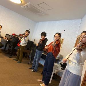 久々に桜ヶ丘センター教室のグループレッスンでした!