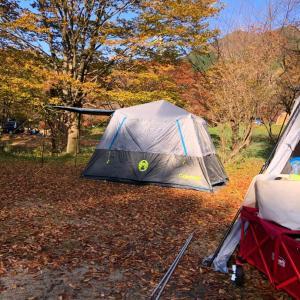 今年初のキャンプはスノーピーク奥日田へ