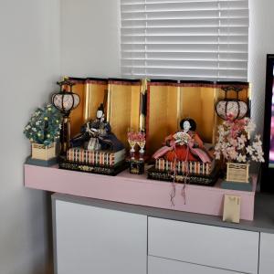 今年も雛人形飾りました