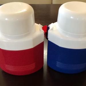 新しいプラスチック水筒買いました
