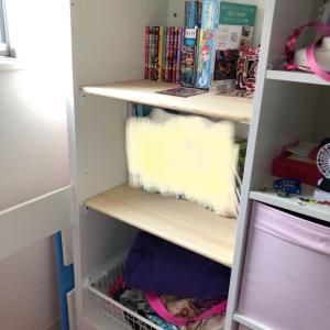 IKEAのSTUVA クローゼットを本棚に改造しました