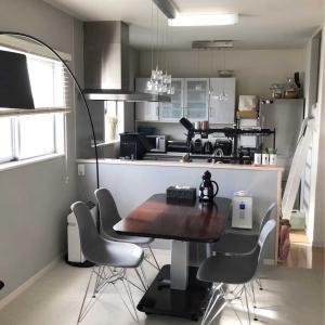 キッチンに新しい水切りラック