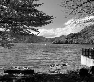 24漕ぎ目 中禅寺湖紅葉漕ぎのはずが・・・・