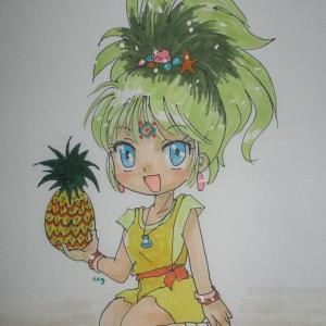 今日はパイナップルの日