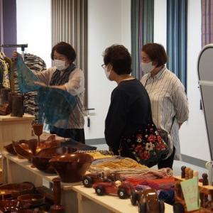 第七回手織りと木工の展示会