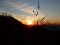 弥彦神社と弥彦山(後編)〜弥彦山の夕日